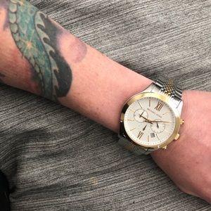 NEW Michael Kors MK8306 Brookton Chronograph Watch